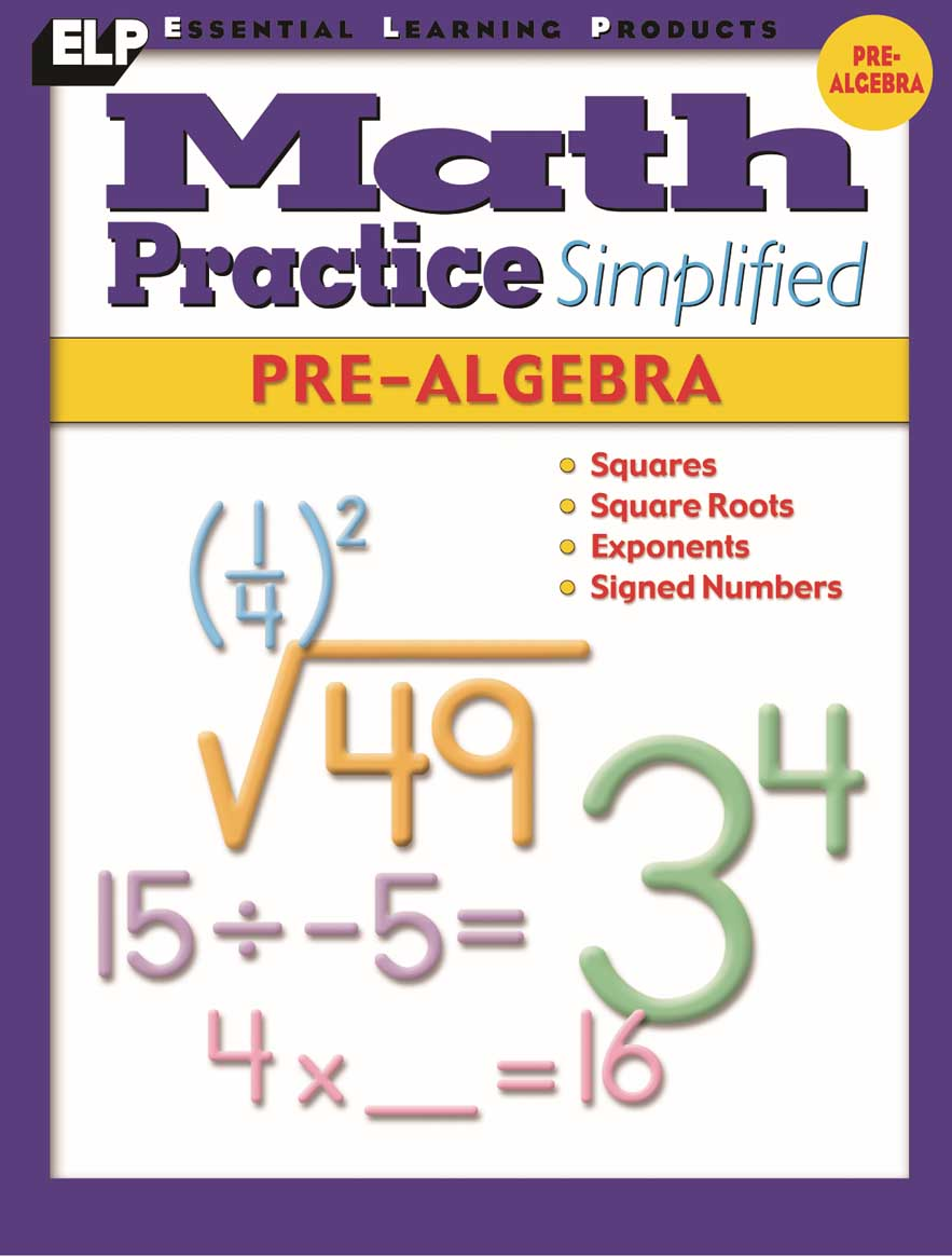 Math Practice Simplified: Pre-Algebra (Book L)