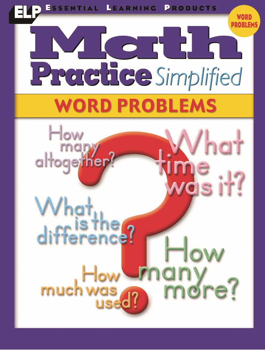 Math Practice Simplified: Word Problems (Book I)