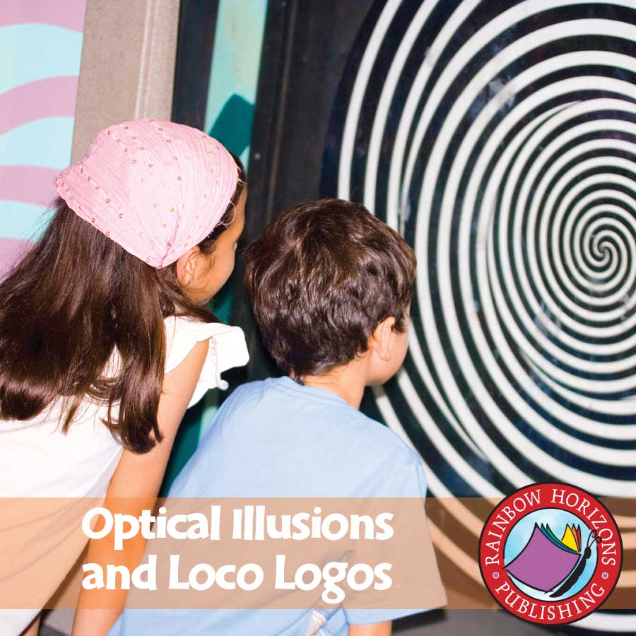 Optical Illusions and Loco Logos Gr. 6-8 - eBook