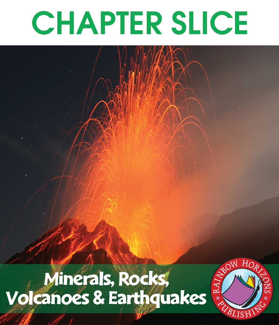 Minerals, Rocks, Volcanoes & Earthquakes Gr. 4-7 - CHAPTER SLICE - eBook