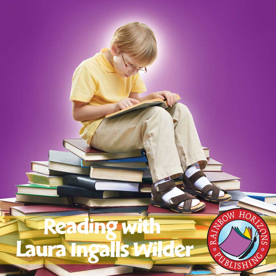 Reading with Laura Ingalls Wilder (Author Study) Gr. 4-7 - eBook