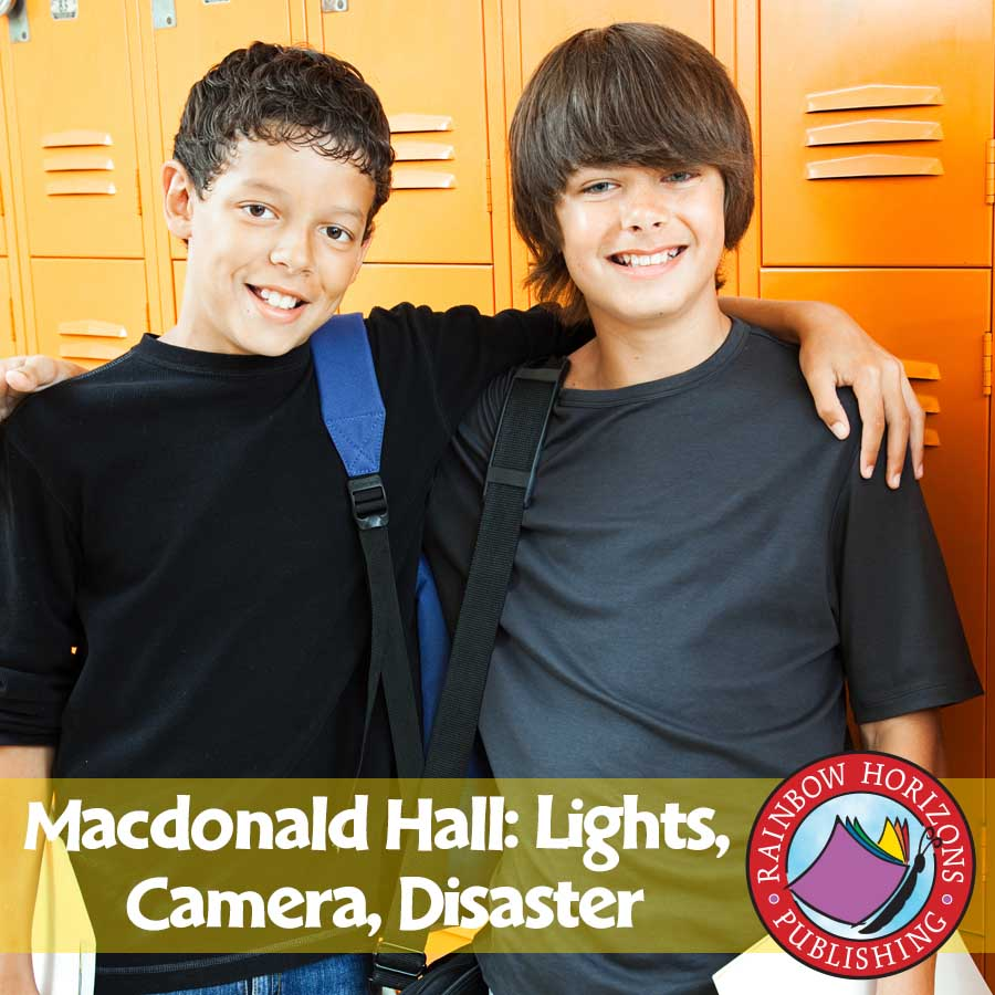 Macdonald Hall: Lights, Camera, Disaster (Novel Study) Gr. 5-6 - eBook