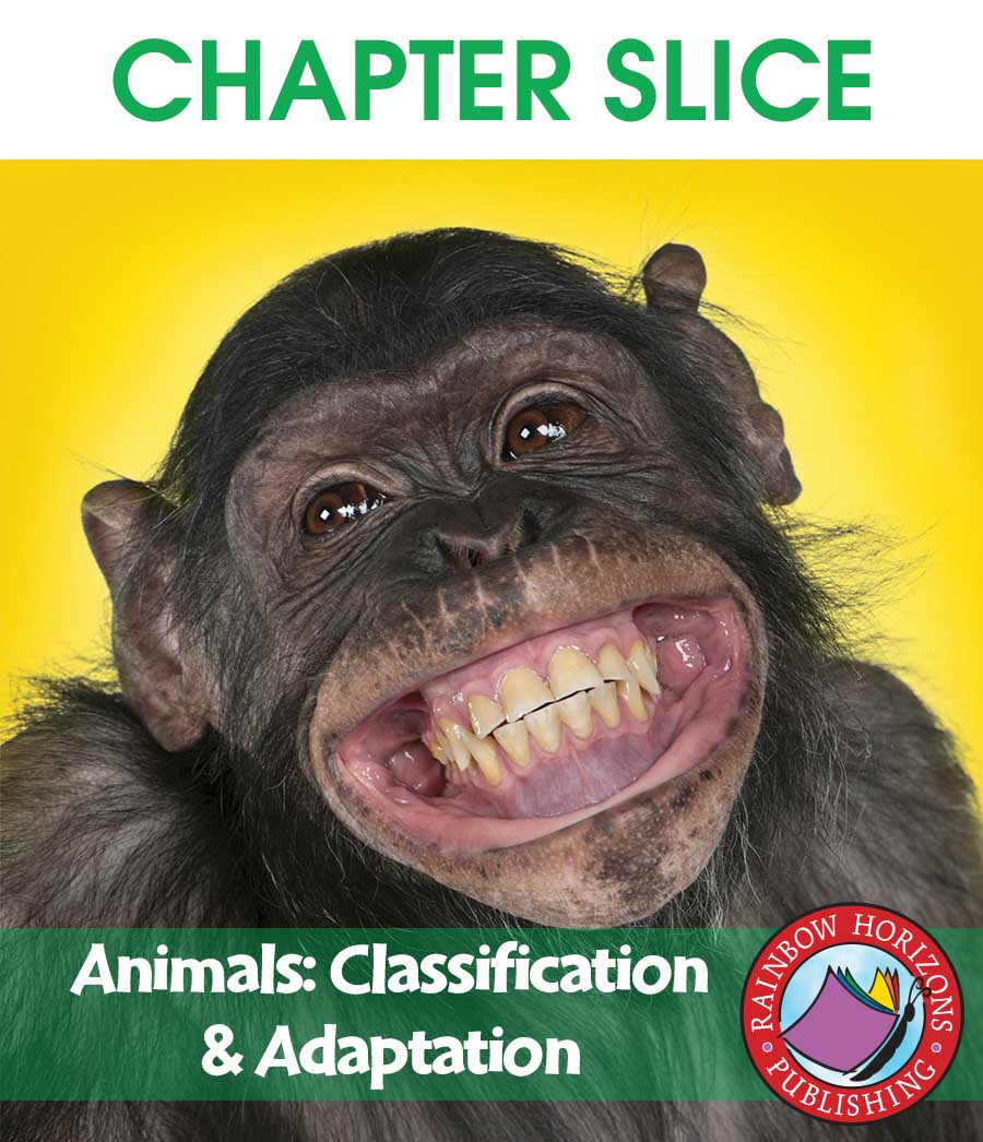 Animals: Classification & Adaptation Gr. 4-6 - CHAPTER SLICE - eBook