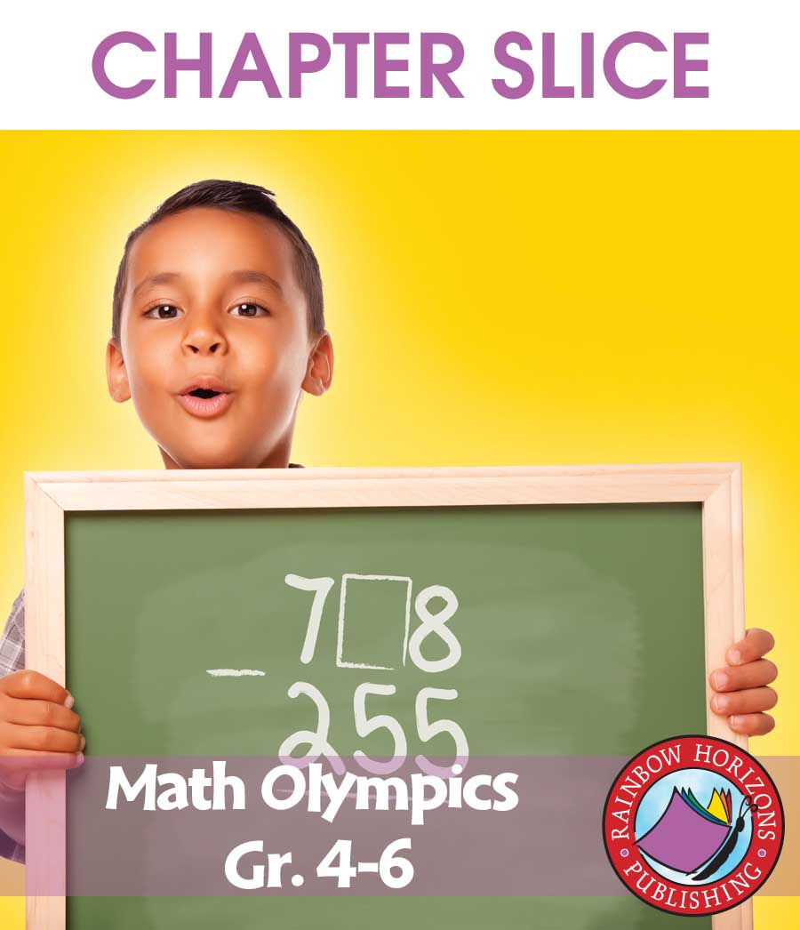 Math Olympics Gr. 4-6 - CHAPTER SLICE - eBook