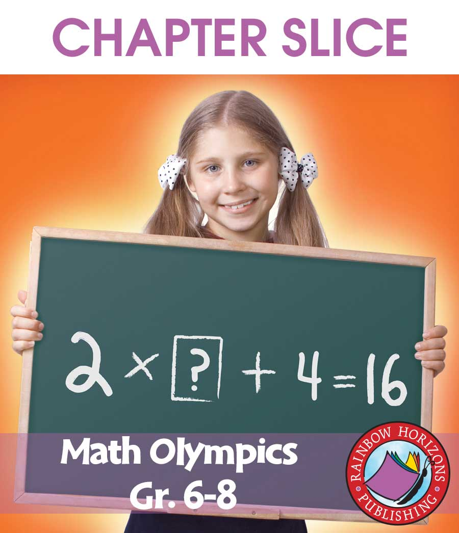 Math Olympics Gr. 6-8 - CHAPTER SLICE - eBook