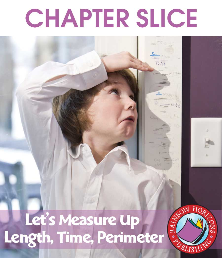 Let's Measure Up: Length, Time, Perimeter Gr. 4-6 - CHAPTER SLICE - eBook