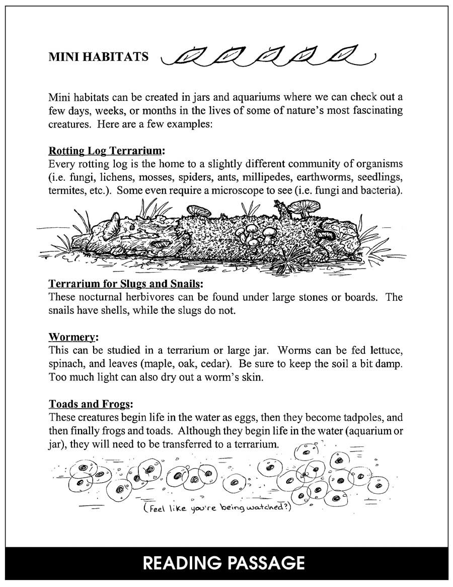 Habitats & Communities Gr. 4-6 - CHAPTER SLICE - eBook