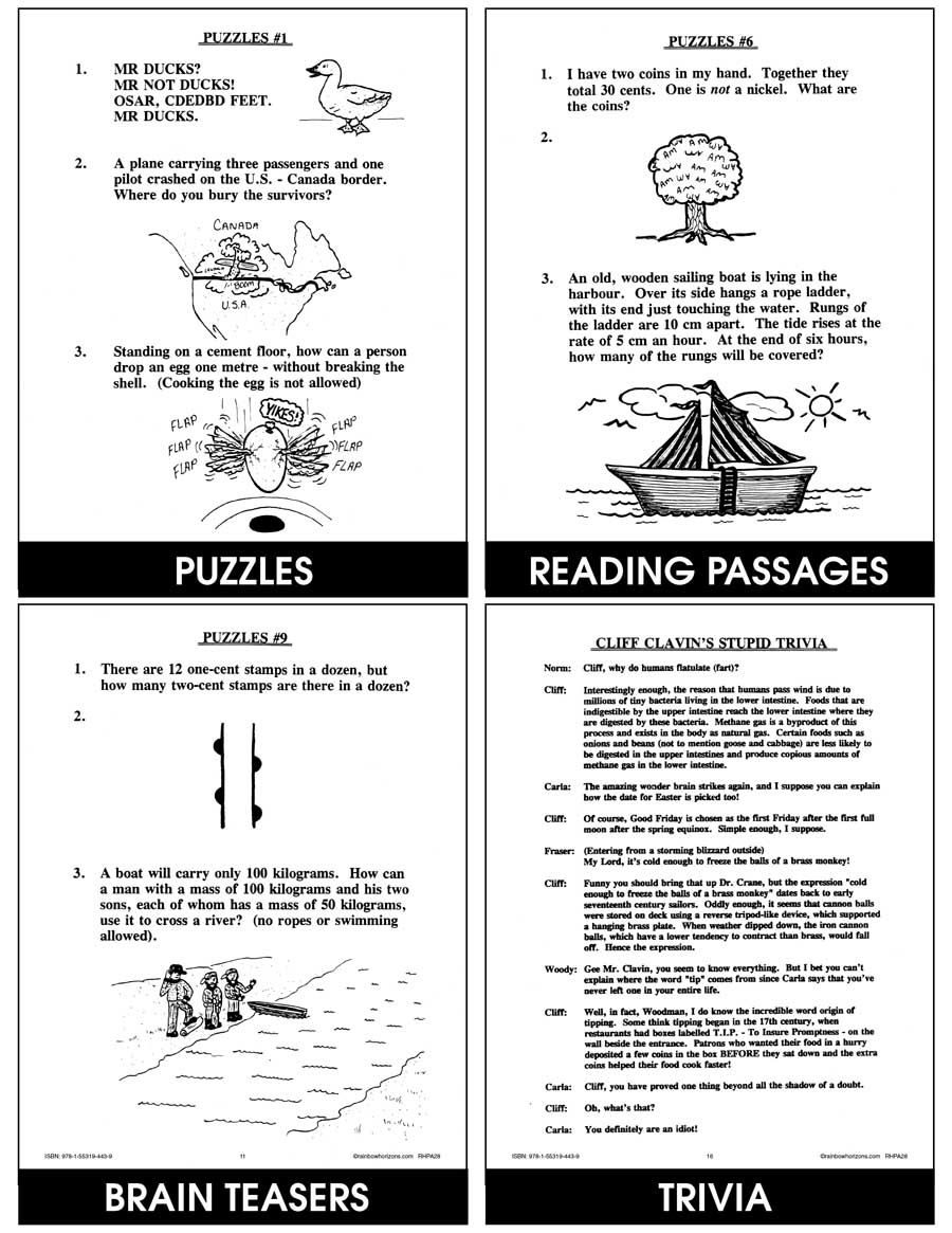 Mind Games & Puzzles Gr. 4-6 - eBook