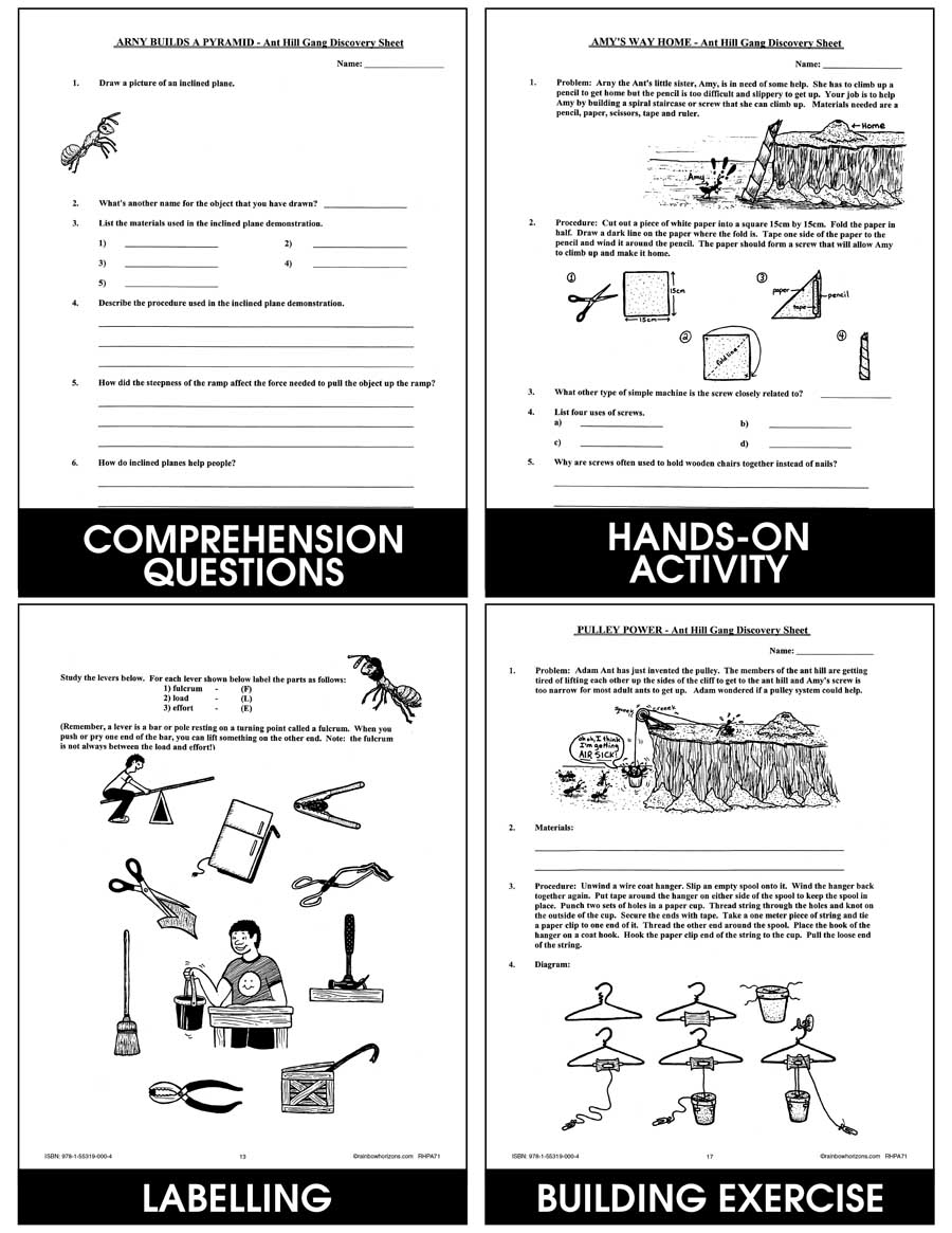 Magnificent Simple Machines Gr. 4-7 - eBook