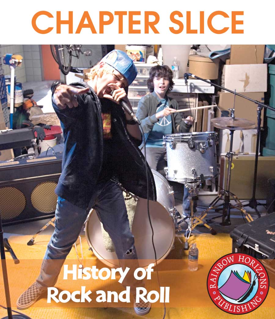 History Of Rock And Roll Gr. 6-8 - CHAPTER SLICE - eBook