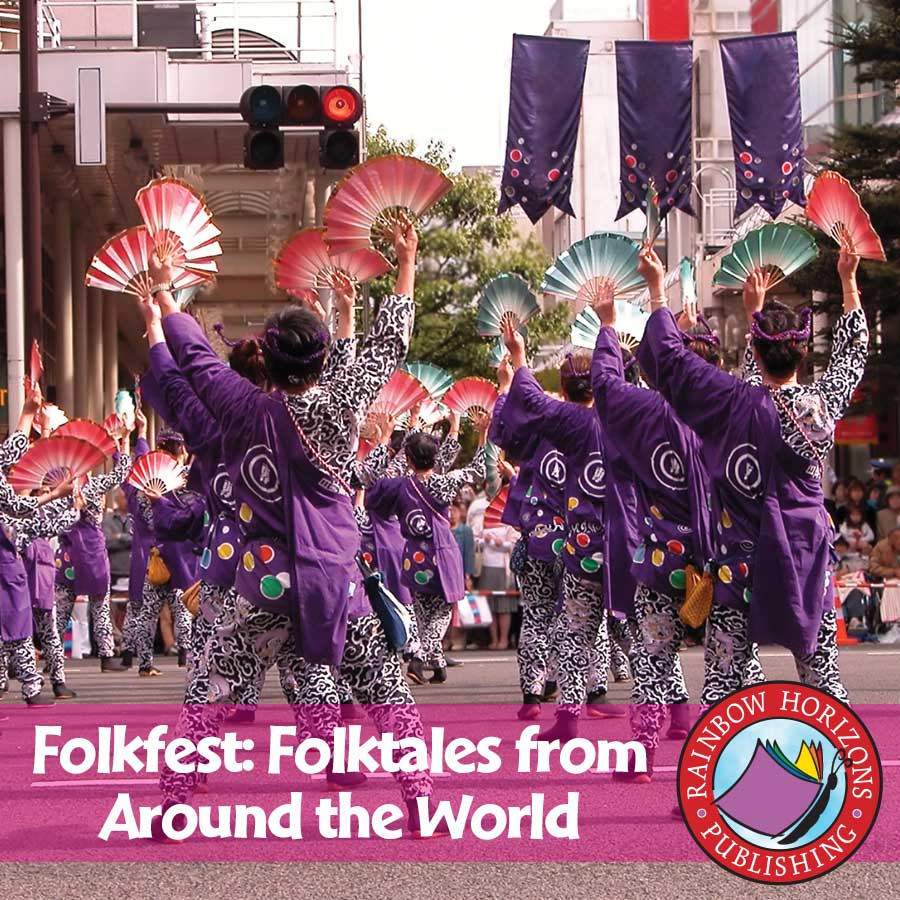 Folkfest: Folktales From Around The World Gr. 4-6 - eBook
