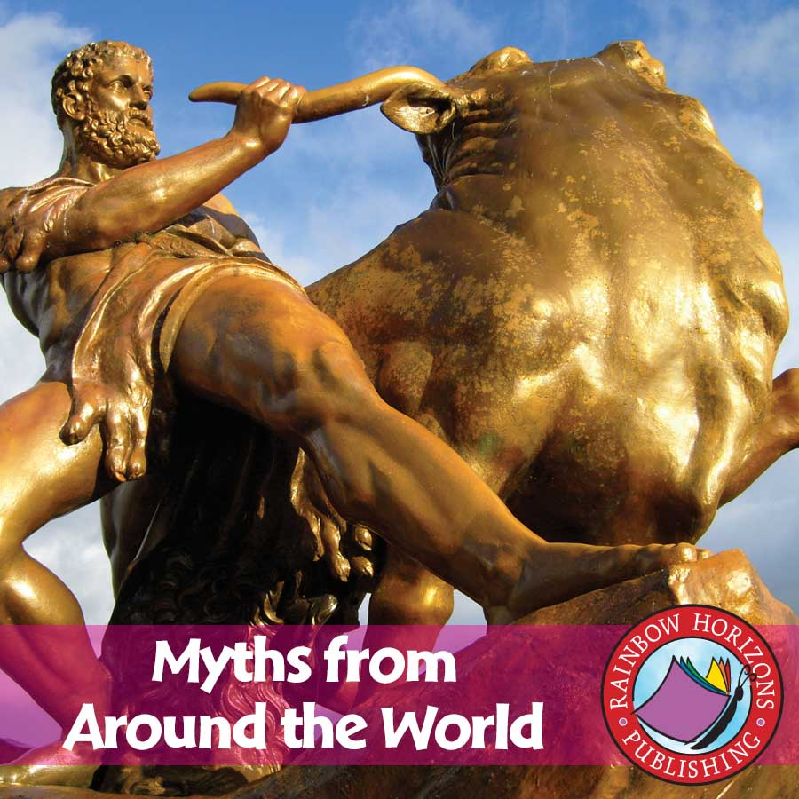 Myths From Around The World Gr. 4-6 - eBook