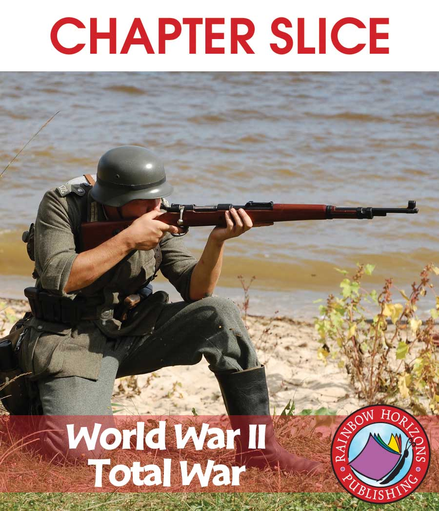 World War II: Total War Gr. 7-9 - CHAPTER SLICE - eBook