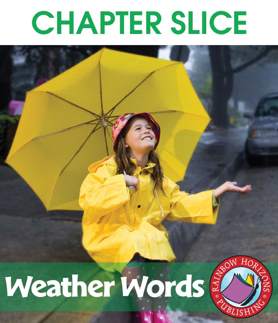 Weather Words: Sleet, Hail, Snow, Rain & Wind Gr. 1-3 - CHAPTER SLICE - eBook