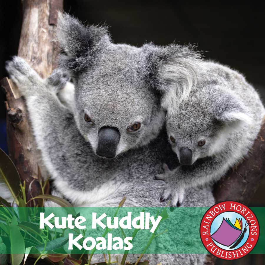 Kute Kuddly Koalas Gr. 1-2 - eBook