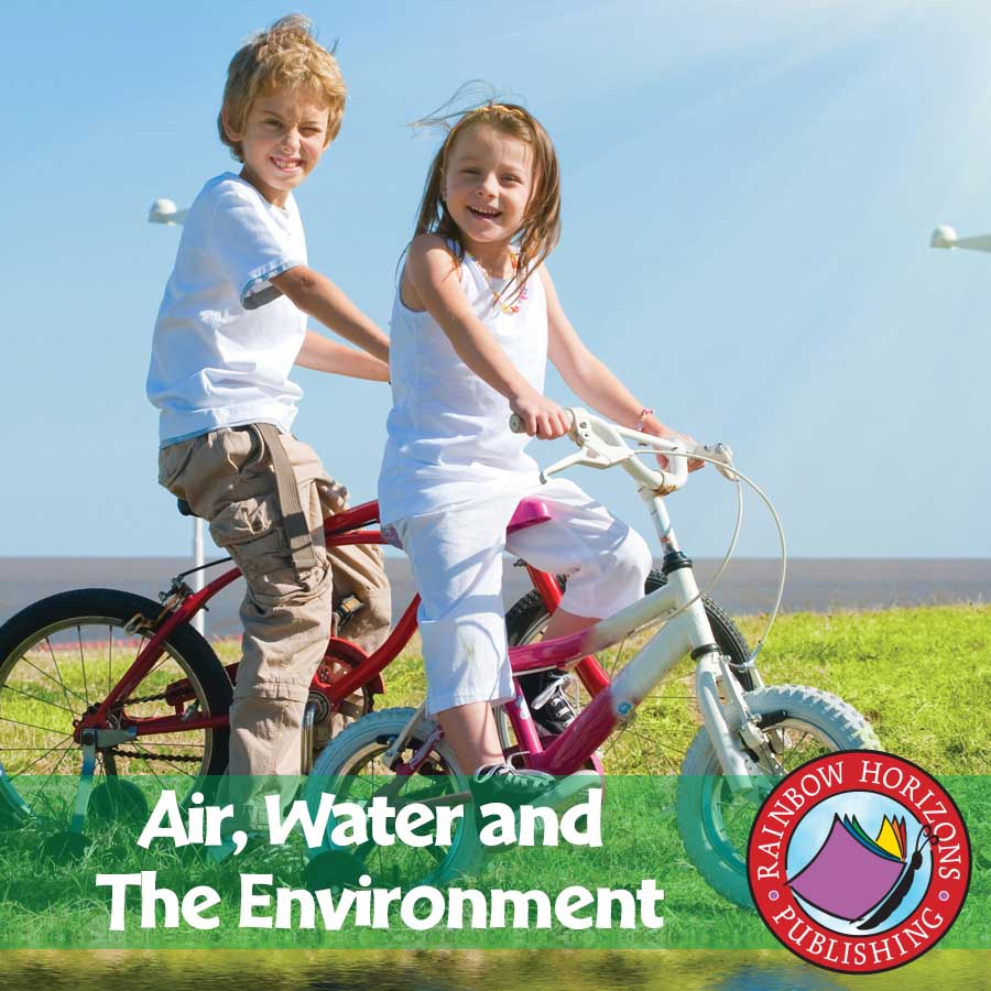 Air, Water and The Environment Gr. 2-4 - eBook