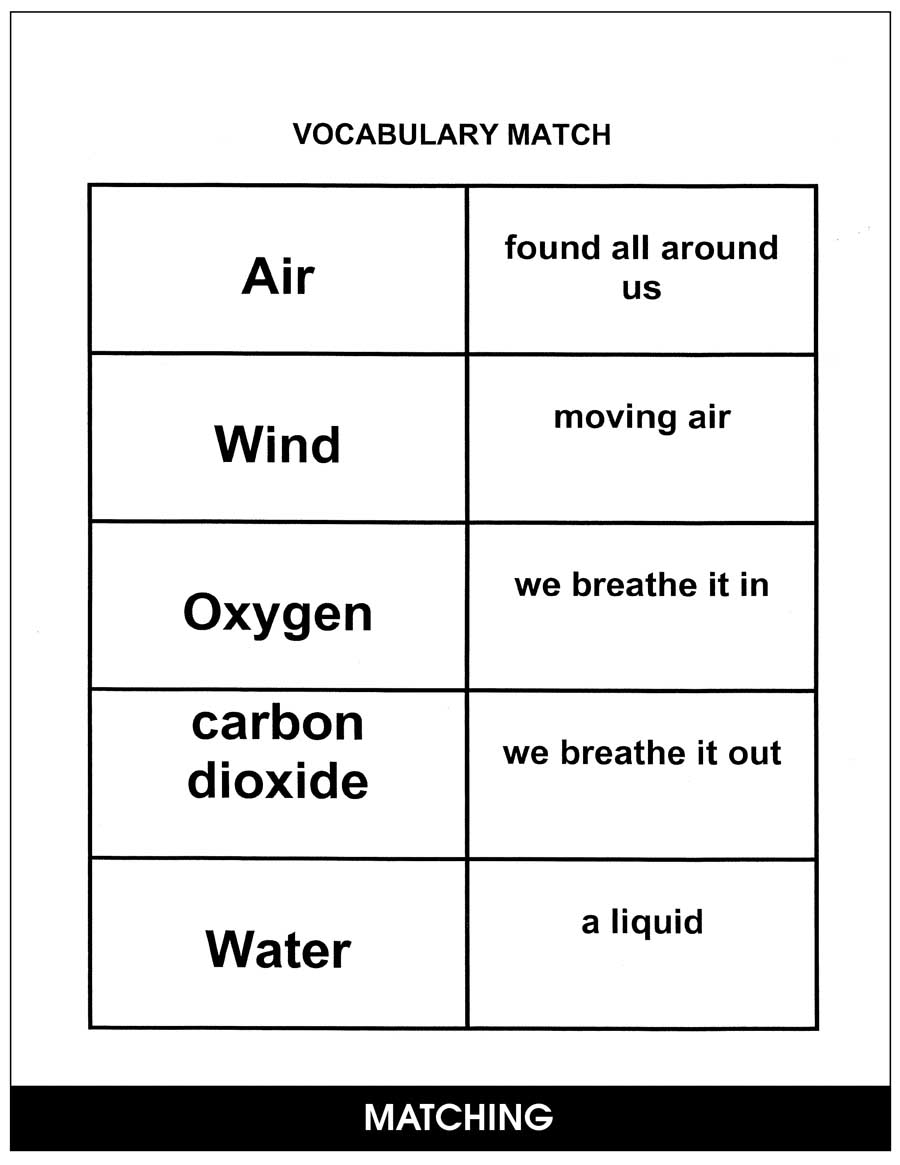 Air, Water and The Environment Gr. 2-4 - CHAPTER SLICE - eBook