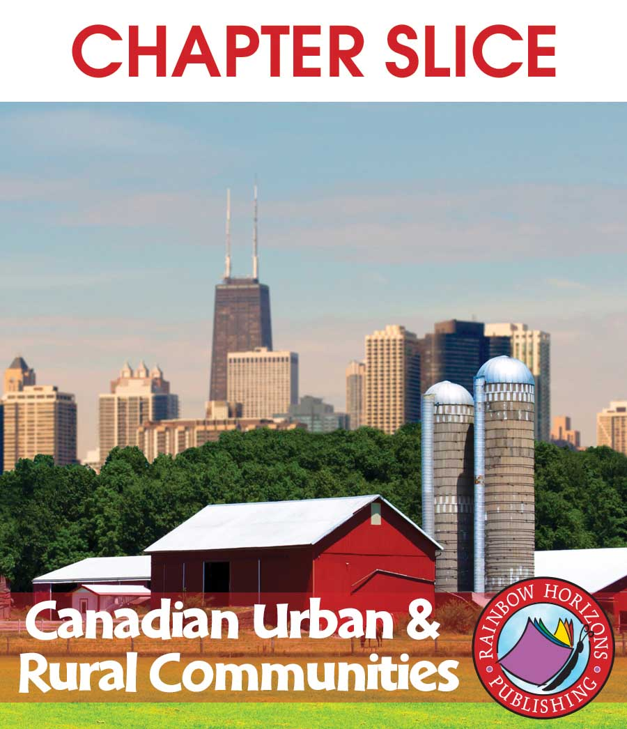 Canadian Urban And Rural Communities Gr. 2-3 - CHAPTER SLICE - eBook