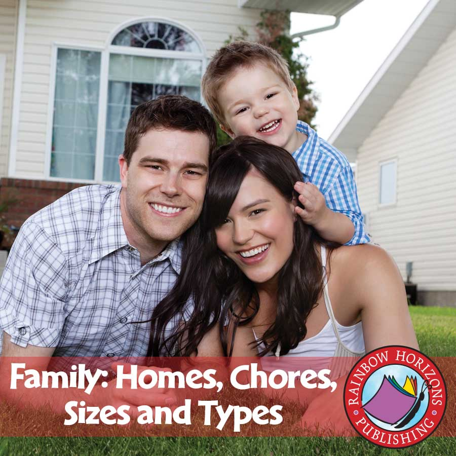 Family: Homes, Chores, Sizes & Types Gr. 1 - eBook