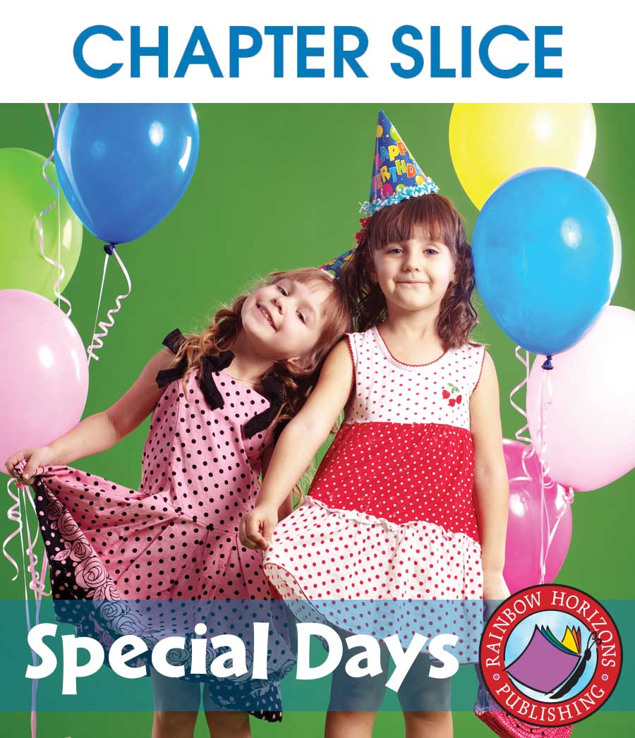 Special Days Gr. 1 - CHAPTER SLICE - eBook