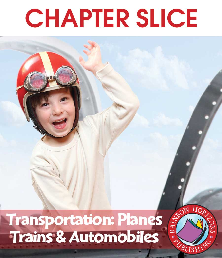 Transportation: Planes, Trains & Automobiles Gr. 1 - CHAPTER SLICE - eBook