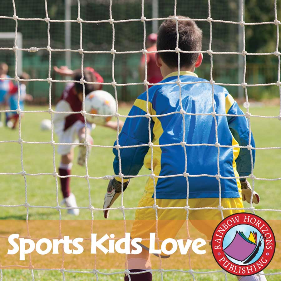Sports Kids Love Gr. 1 - eBook