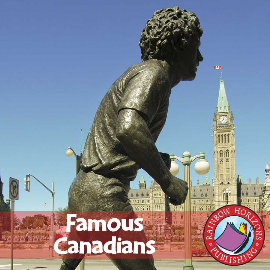 Famous Canadians Gr. 4-6 - eBook