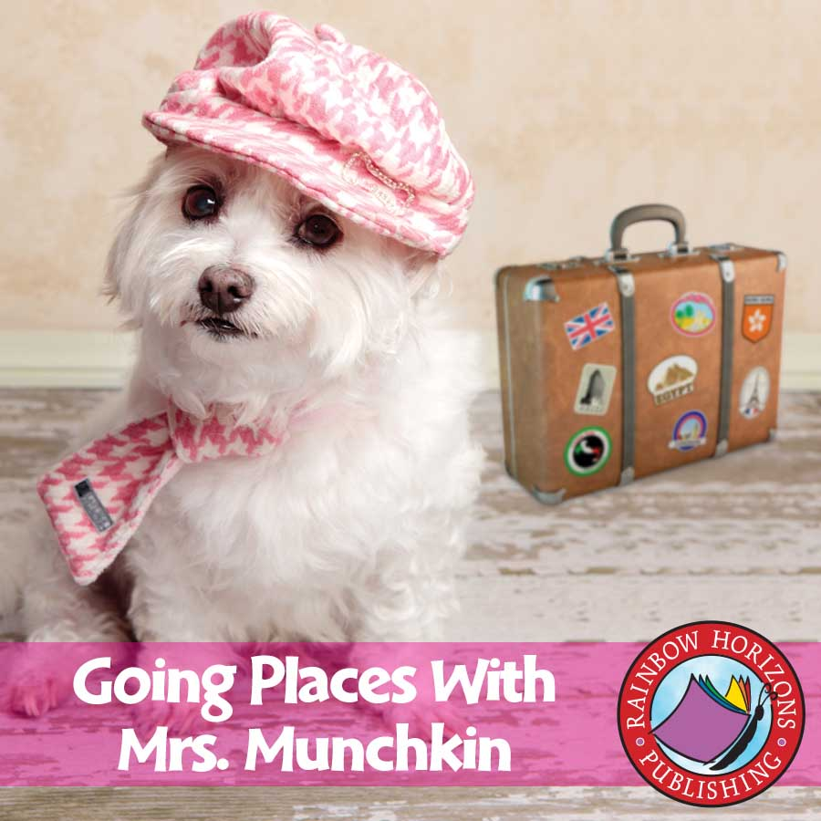 Going Places With Mrs. Munchkin Gr. K-1 - eBook