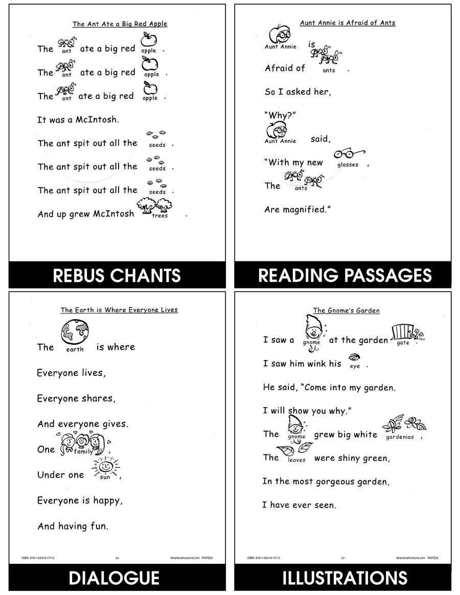Rebus Chants A to Z Gr. K-1 - eBook