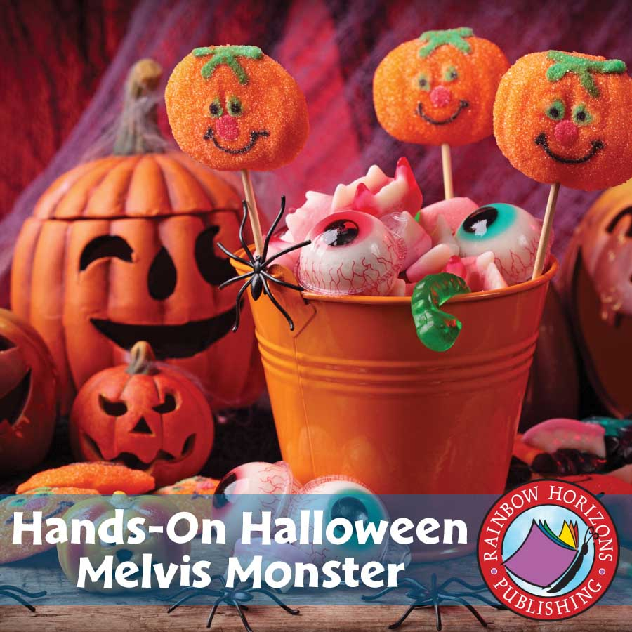 Hands-On Halloween: Melvis Monster Gr. 1-2 - eBook