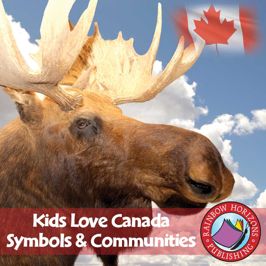 Kids Love Canada: Symbols & Communities Gr. K-2 - eBook