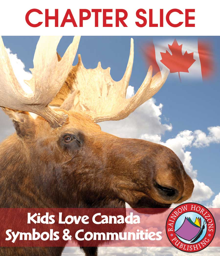 Kids Love Canada: Symbols & Communities Gr. K-2 - CHAPTER SLICE - eBook