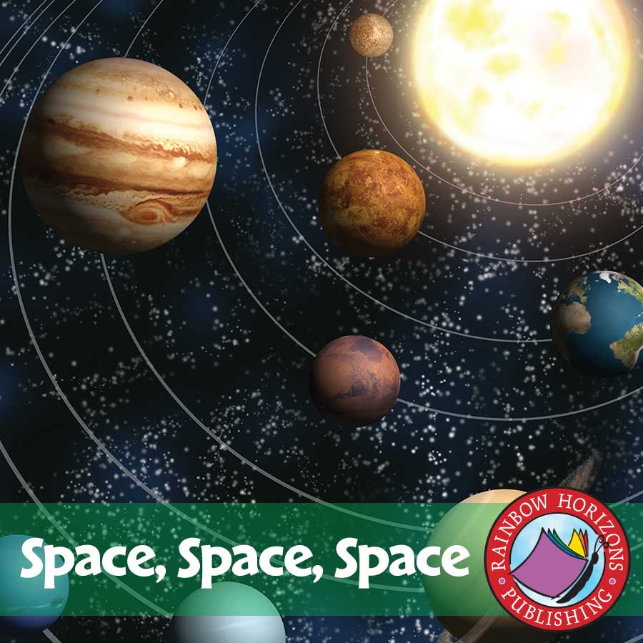 Space Space Space Gr. 1-3 - eBook