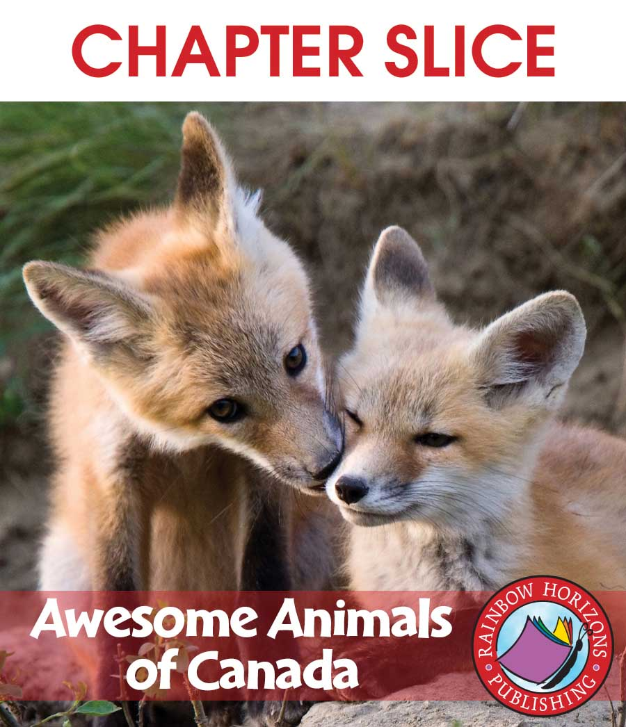 Awesome Animals of Canada Gr. 2-3 - CHAPTER SLICE - eBook