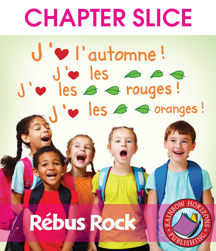 Rébus Rock (French) Gr. K-2 - CHAPTER SLICE - eBook