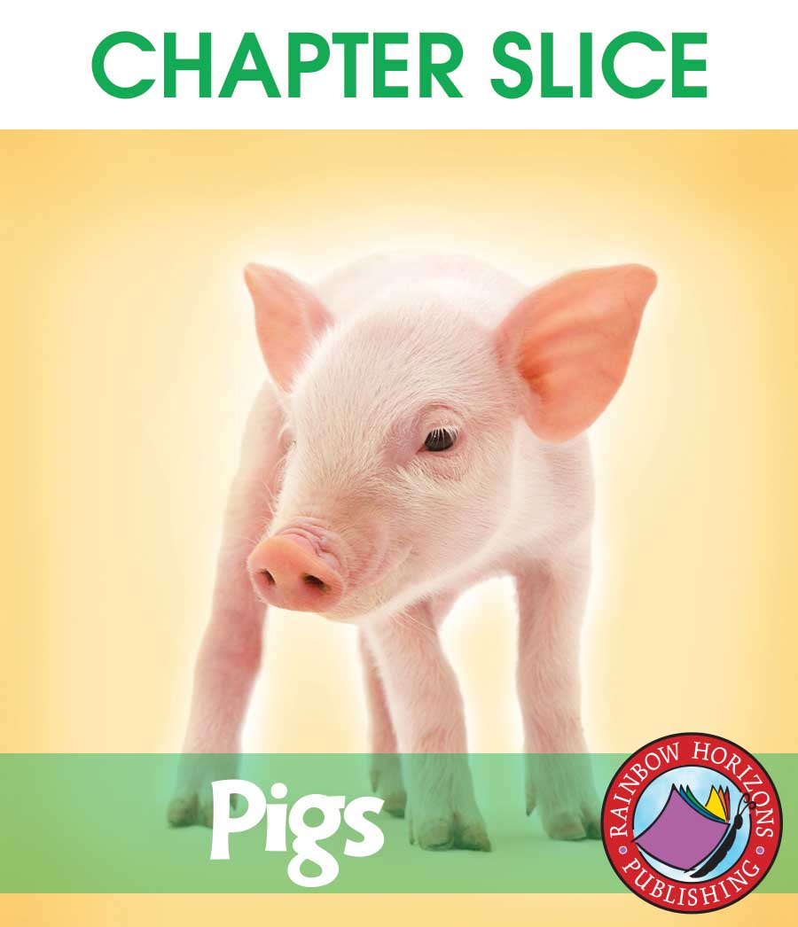 Pigs Gr. K-2 - CHAPTER SLICE - eBook