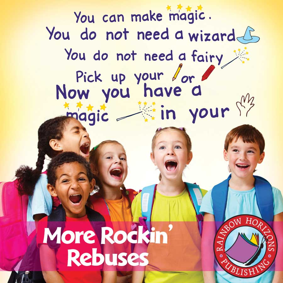 More Rockin' Rebuses Gr. K-2 - eBook
