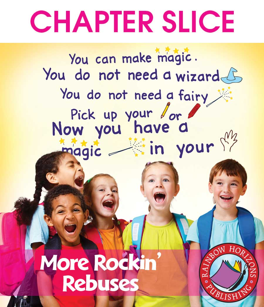 More Rockin' Rebuses Gr. K-2 - CHAPTER SLICE - eBook