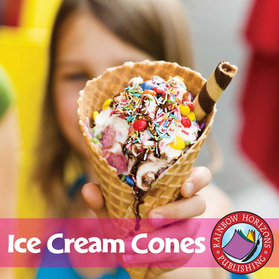 Ice Cream Cones  Gr. K-2 - eBook