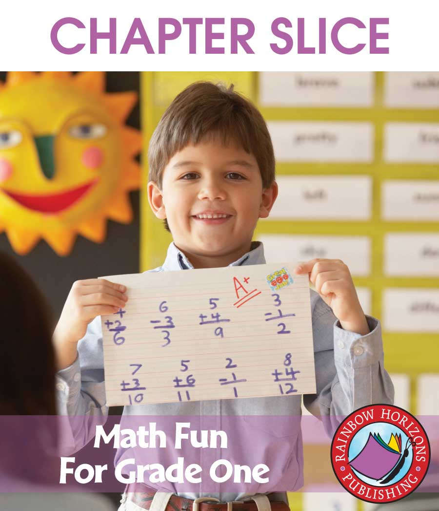 Math Fun For Grade One Gr. 1 - CHAPTER SLICE - eBook