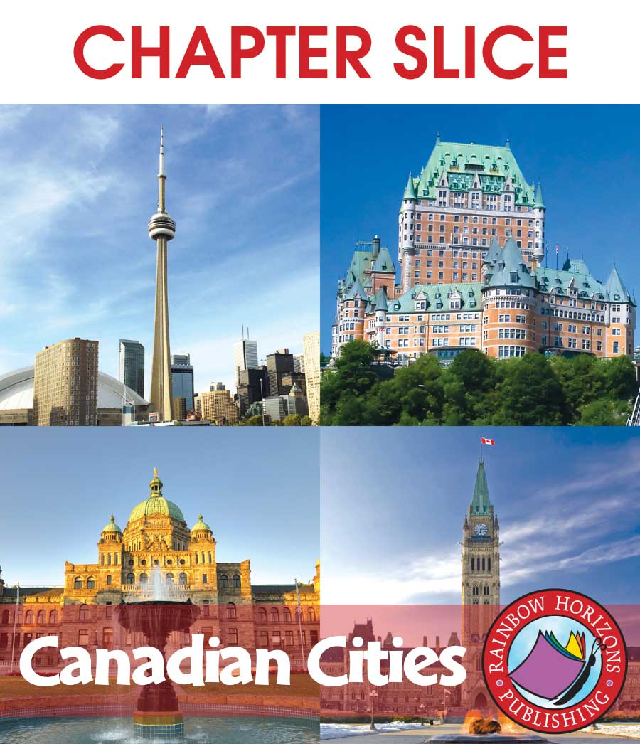 Canadian Cities Gr. 2-3 - CHAPTER SLICE - eBook