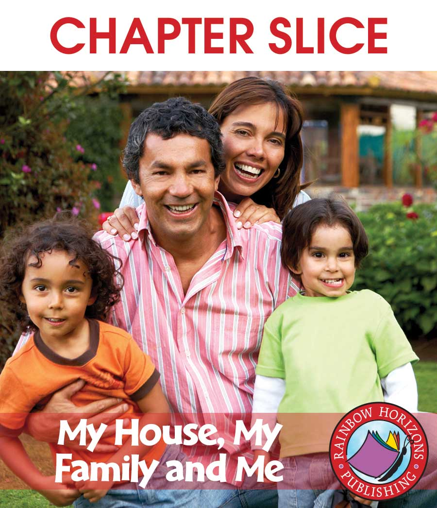 My House, My Family and Me Gr. K-1 - CHAPTER SLICE - eBook