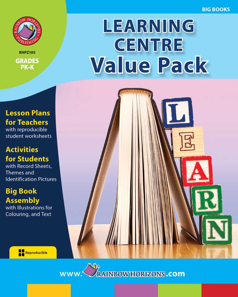 Learning Centre VALUE PACK Gr. PK-K - print book