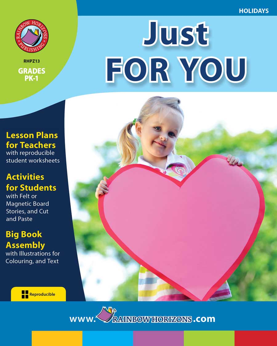 Just For You Gr. PK-1 - print book