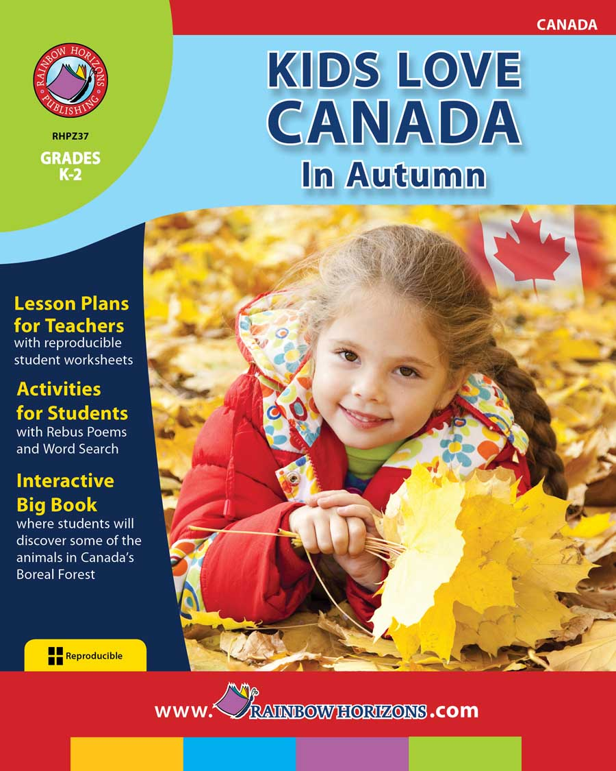 Kids Love Canada: In Autumn Gr. K-2 - print book