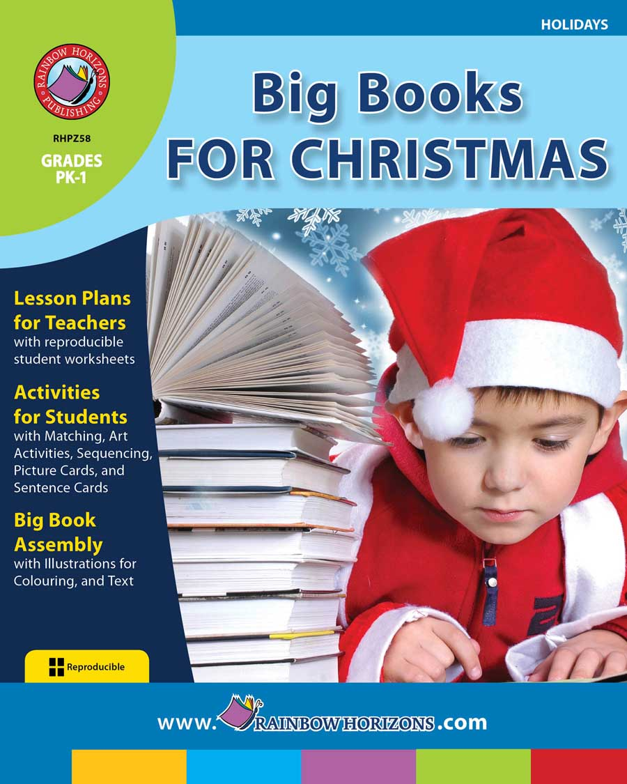 Big Books For Christmas Gr. PK-1 - print book