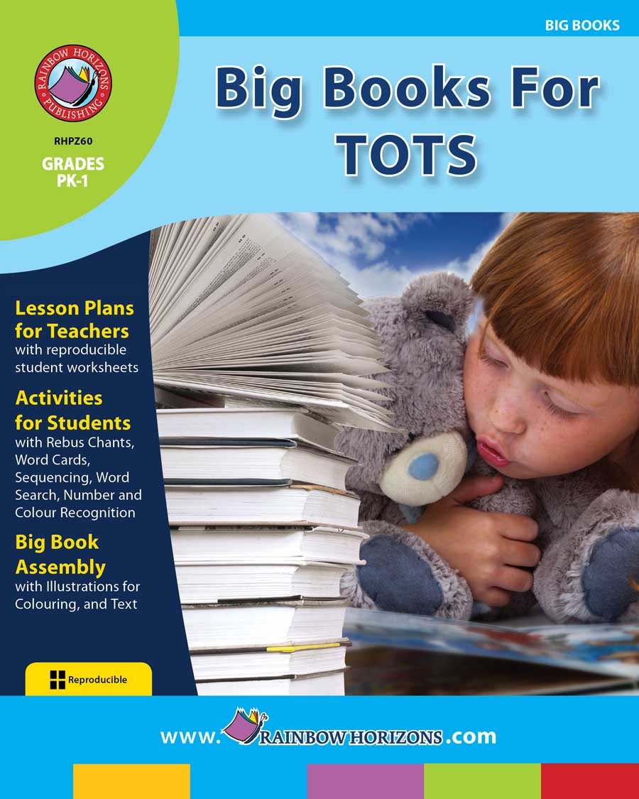 Big Books For Tots Gr. PK-1 - print book
