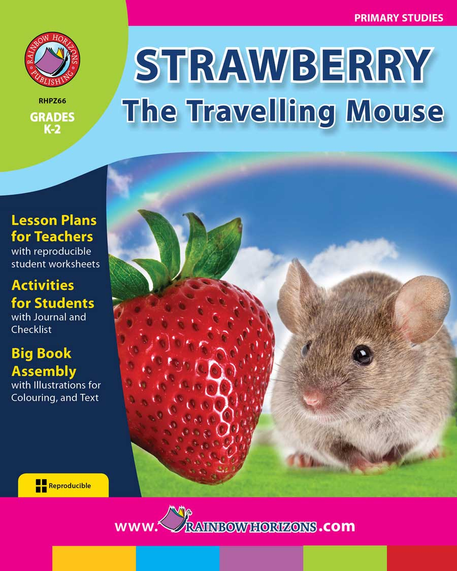 Strawberry, The Travelling Mouse Gr. K-2 - print book