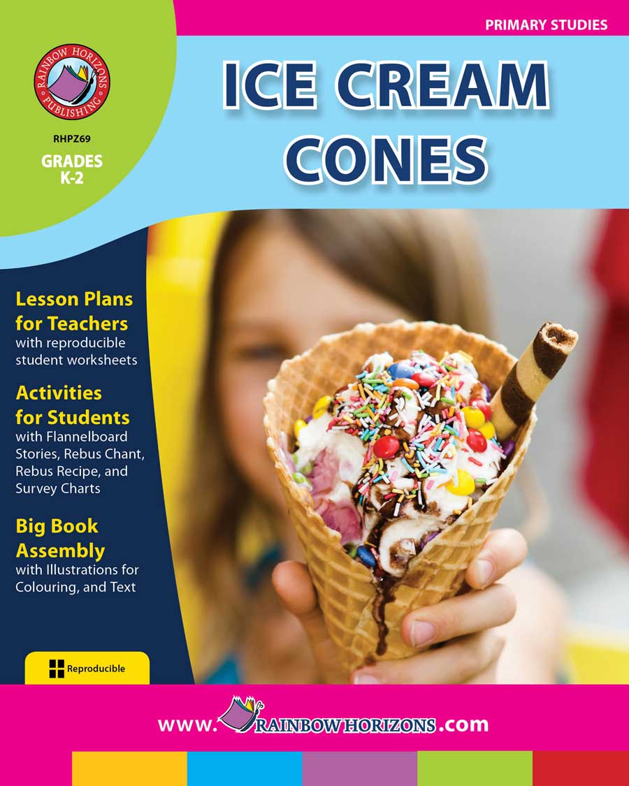 Ice Cream Cones  Gr. K-2 - print book