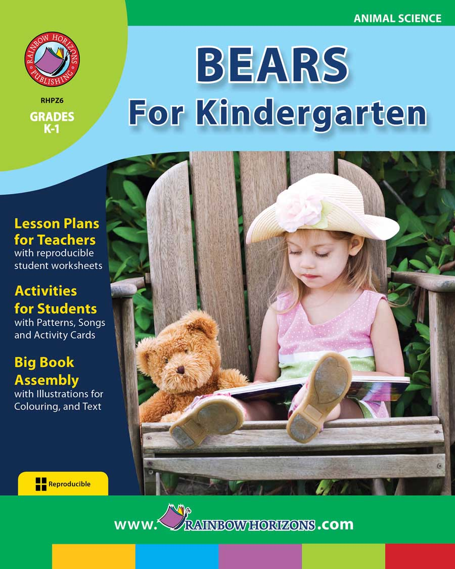 Bears For Kindergarten Gr. K-1 - print book